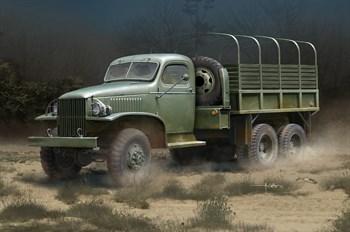 автомобиль  US GMC CCKW-352 Steel Cargo Truck  (1:35)