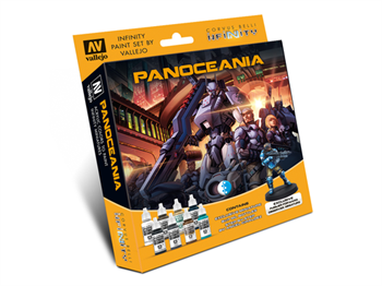 Model Color Set: Infinity Panoceania Exclusive Miniature (Paint Accessories)