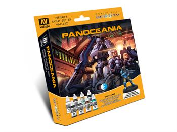 Model Color Set: Infinity Panoceania Exclusive Miniature (Paint Accessories)