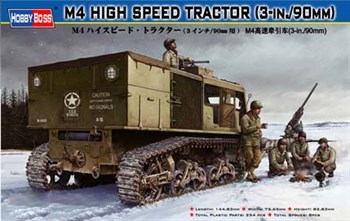 Тягач M4 High Speed Tractor(3-in./90mm) (1:35)