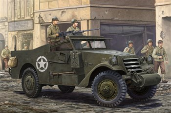 БТР M3A1 White Scout Car late production  (1:35)