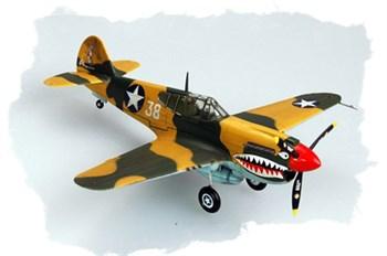 Авиация  Curtiss P-40E Kittihawk (1:72)