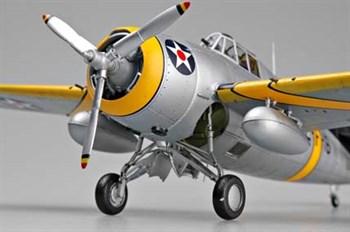 "Авиация  F4F-3 ""Wildcat"" (Early)  (1:48)"