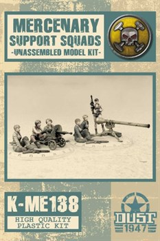 MERCENARY SUPPORT WEAPONS  - MODEL KIT