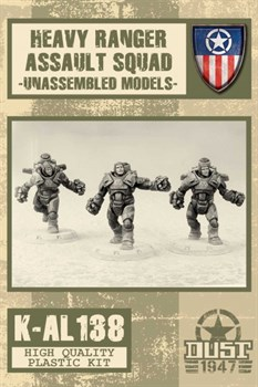 HEAVY RANGERS ASSAULT SQUAD - MODEL KIT