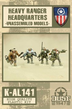 HEAVY RANGERS HQ - MODEL KIT