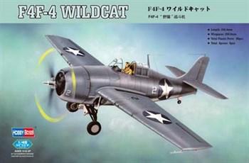 Авиация  F4F-4 Wildcat  (1:48)