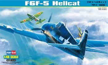 Авиация  F6F-5 Hellcat  (1:48)