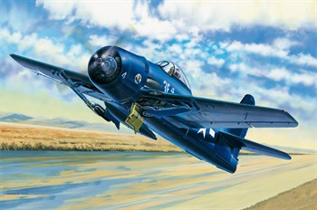 Авиация  F8F-1 Bearcat  (1:48)