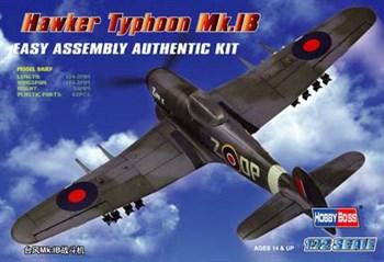 Авиация  Hawker Typhoon Mk.IB  (1:72)