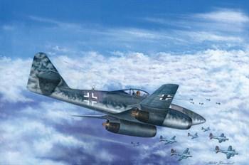 Авиация  Ме 262 А-1b (1:48)