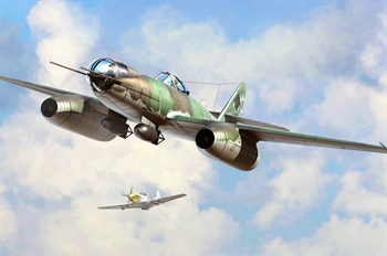 Авиация  Me 262 A-2a/U2  (1:48)