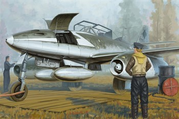 Авиация  Me 262 B-1a  (1:48)