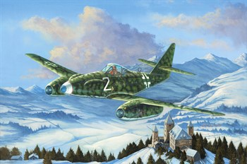 Авиация  Messerschmitt Me 262 A-1a/U3 (1:48)