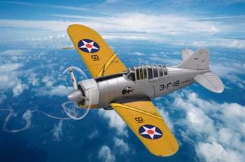 Авиация  US F2A Buffalo  (1:72)