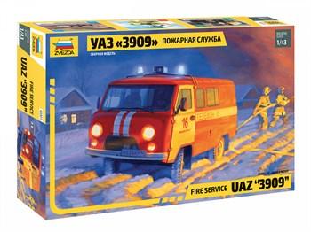 """43001 УАЗ """"3909"""" Пожарная служба"""