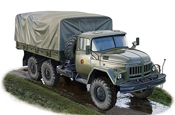 Автомобиль  Russian 131 Truck (Early Version) w / winch  (1:35)