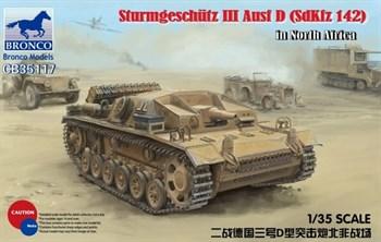 Сау  Sturmgeschütz Iii Ausf D (SdKfz 142) In North Africa  (1:35)