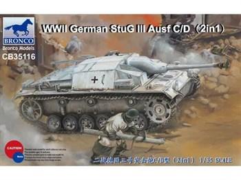 САУ  WWII German StuG III Ausf C/D (SdKfz 142)  (1:35)