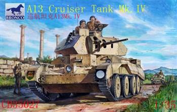 A13 Mk.II Cruiser Tank Mk.IV (1:35)