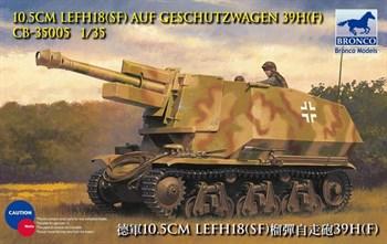 Сау  10.5cm Lefh18(Sf) Auf Geschutzwagen 39h(F) (1:35)