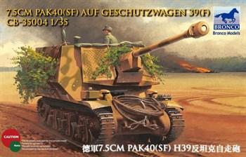 Сау  7.5cm Pak40(Sf) Auf Geschutzwagen 39(F) (1:35)
