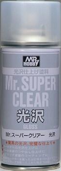 Краска Художественная Т.М.Mr.Hobby  Mr.Super Clear Gloss 170мл