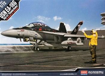 "Usn Ea-18g Super Hornet  Vaq-141 ""Shadow Hawks""  (1:72)"