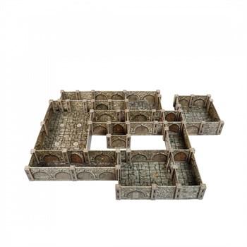 """Игровой набор из картона . """"Конструктор подземелья. Базовый набор""""."""