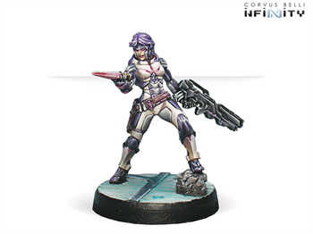 Myrmidon Officer (Combi Rifle, Boarding Shotgun) (ALEPH)