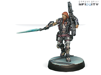 Phoenix. Veteran Myrmidon Officer (Heavy Rocket Launcher) (ALEPH)
