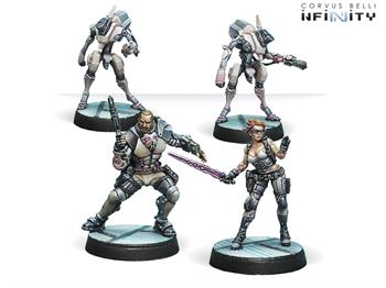 Drakios & Scylla, Steel Phalanx's NCO (ALEPH)