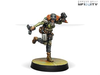 Warcors, War Correspondents (Stun Pistol)  (NA2)