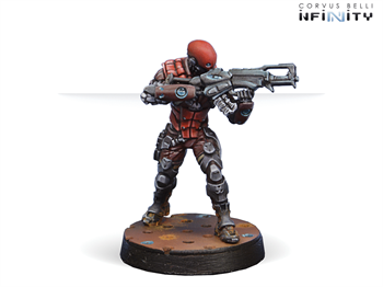 Intruder, Corregidor Assault Commando (HMG) (Nomads)