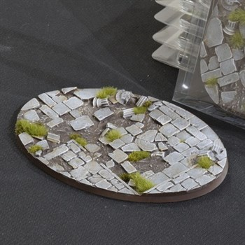 Temple Bases Oval 120mm (x1)