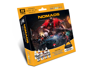 Model Color Set: Infinity Nomads Exclusive Miniature (Paint Accessories)