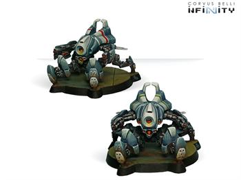 Armbots Bulleteer (Spitfire, Heavy Shotgun)  (PanOceania)