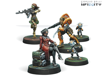 Dire Foes Mission Pack 6. Defiant Truth (Yu Jing vs Haqqislam)  (Mission Pack)