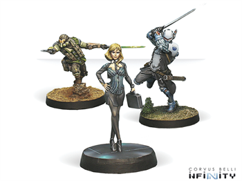 Dire Foes Mission Pack 4: Flee or Die (Hassassin VS Military Order) Yasbir, Konstantinos, VIP Executive (Mission Pack)