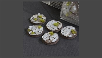 Temple Bases Round 40mm (x5)
