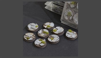 Temple Bases Round 32mm (x8)