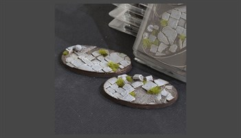 Temple Bases Oval 90mm (x2)