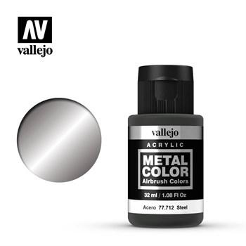 """712.  """"Metal Color""""  Сталь Vallejo"""