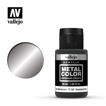 "720.  ""Metal Color""  Темно серый Vallejo"