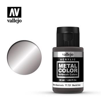 "721.  ""Metal Color""  Жженое железо Vallejo"