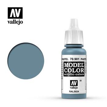 """063.""""Model Color""""  Голубой пастельный 901 Vallejo"""
