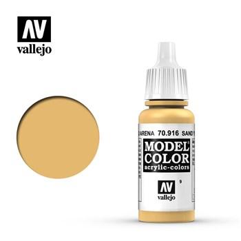 """009.""""Model Color""""  Желтый песок.  916 Vallejo"""