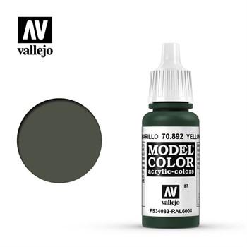 "087.""Model Color""  Оливково-желтый  892"