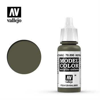 """090.""""Model Color""""  Защитн. зелен. темн..  890 Vallejo"""