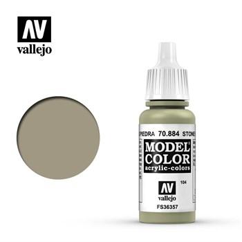 """104.""""Model Color""""  Серый камень.  884 Vallejo"""